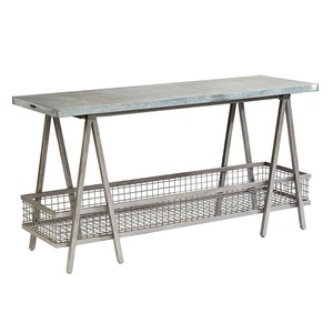 The Shannon Zinc Top Table | Magnolia Home