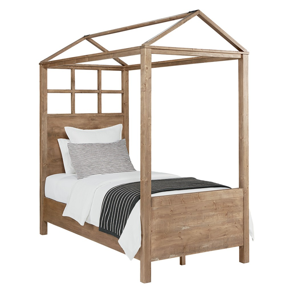 Playhouse Canopy Bed in Salvage | Magnolia Home