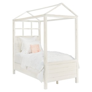 Playhouse Canopy Bed in Jo's White