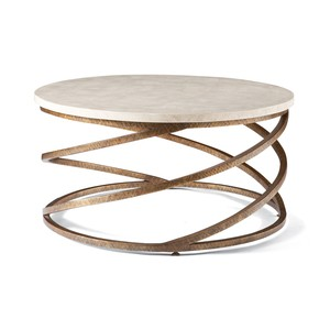 Spiraled Base Cocktail Table | CTH-Sherrill Occasional