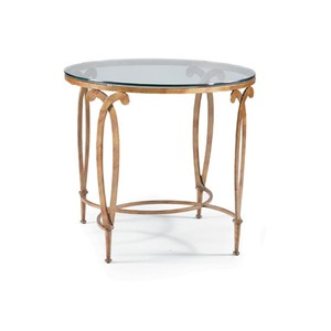 Round Lamp Table | CTH-Sherrill Occasional