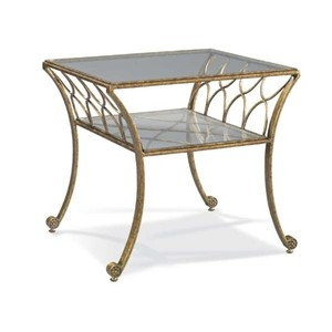 Fairmont Wrought Iron Lamp Table | CTH-Sherrill Occasional