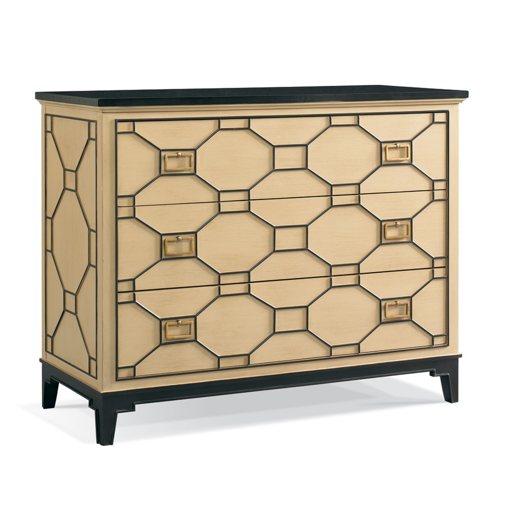 Fretwork Drawer Chest | CTH-Sherrill Occasional