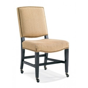 Side Chair w/ Casters | CTH-Sherrill Occasional