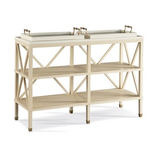 South Hampton Tiered Tray Console