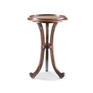 Drink Stand w/ Gallery Rail | CTH-Sherrill Occasional