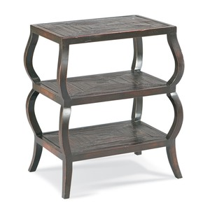 Bamboo Tiered Chairside Table | CTH-Sherrill Occasional