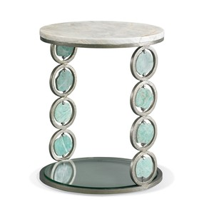 Jade Stone Accent Table | CTH-Sherrill Occasional