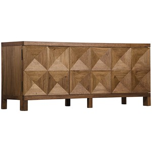 Three Door Quadrant Sideboard | Noir
