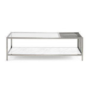 Striate Cocktail Table
