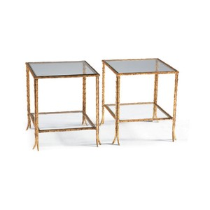Gold Bunching Cocktail Table | CTH-Sherrill Occasional
