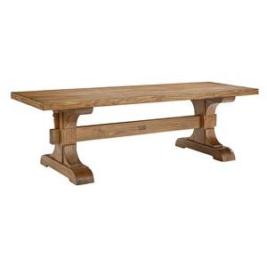 Keyed Trestle Table