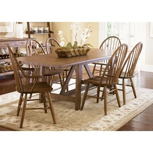 Trestle Table   Liberty Furniture