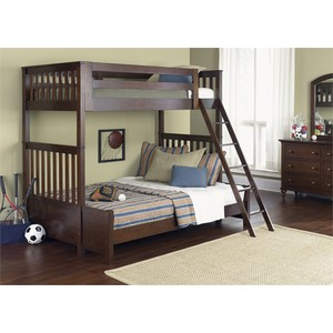 Twin Over Twin Bunk Bed | Liberty Furniture
