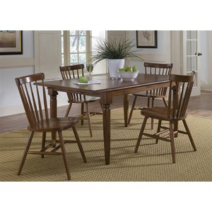 Butterfly Leaf Table in Tobacco | Liberty Furniture