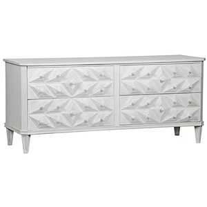 Giza Four Drawer Dresser | Noir