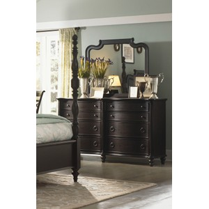 Glen Cove Black Dresser with Mirror | Legacy Classic