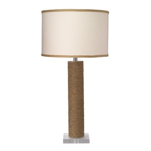 Cylinder Rope Table Lamp