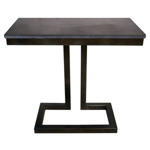 Alonzo Side Table | Noir