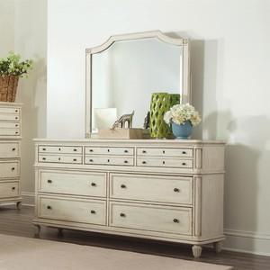 Huntleigh Seven Drawer Dresser and Mirror