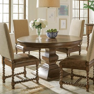 Pembroke Round Dining Table | Riverside