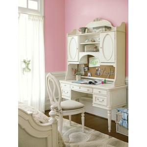 Gabriella Student Desk with Storage Hutch