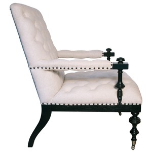Matteo Club Chair | Noir