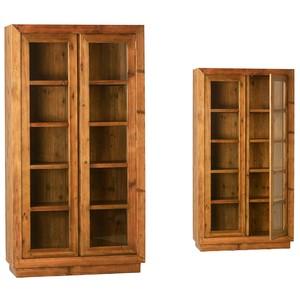 Miranda Glass-Door Cabinet