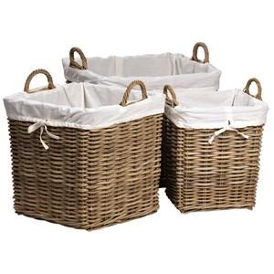 Square Basket, Set/3
