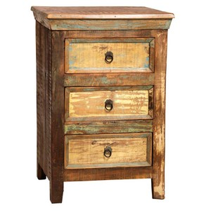 Nantucket Three-Drawer Nightstand | Dovetail