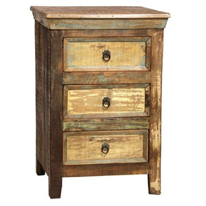 Nantucket 3 Drawer Nightstand | Dovetail