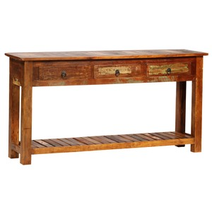 Nantucket Wood Console