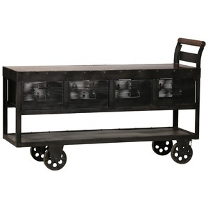 Hayes Trolley Console Table