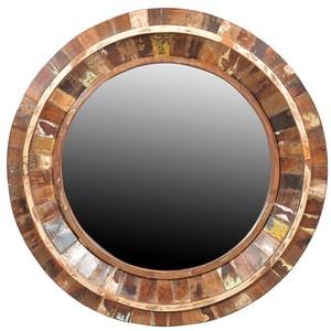 Nantucket Round Mirror Frame | Dovetail