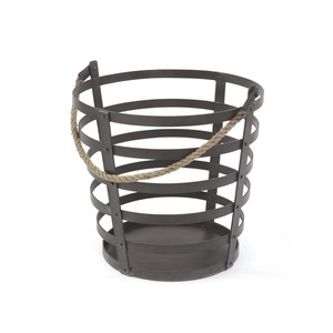 Iron and Rope Basket | Park & Main