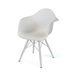 White Samantha Chair