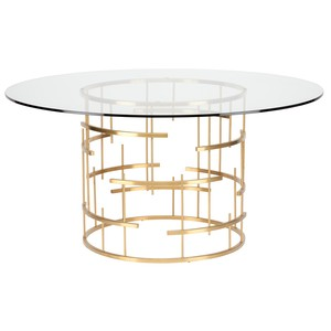 Round Tiffany Dining Table | Nuevo