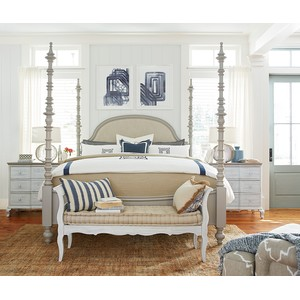 The Dogwood Upholstered Bed | Paula Deen Home