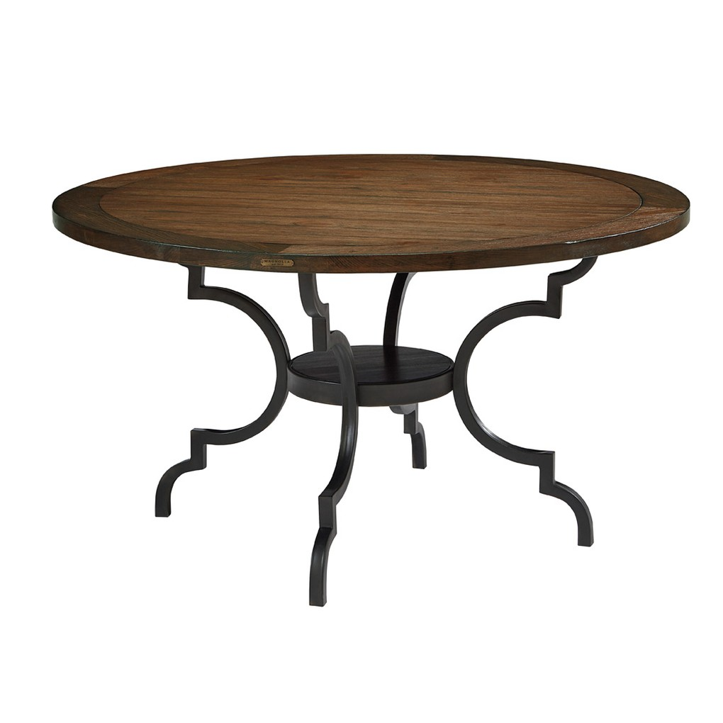 Round Dining Table in Black | Magnolia Home