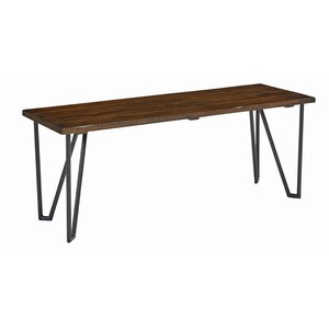 Bench with Metal Legs