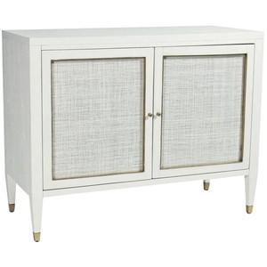 Atherton Bar Cabinet in White | Brownstone Furniture
