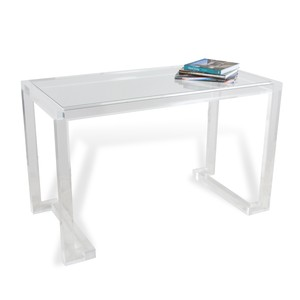 Ava Acrylic Desk | Interlude Home