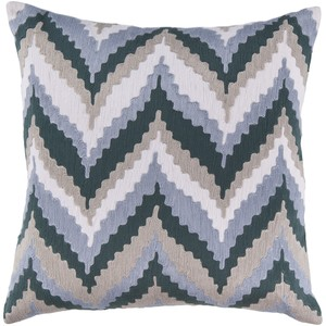 Ikat Chevron Throw Pillow | Surya