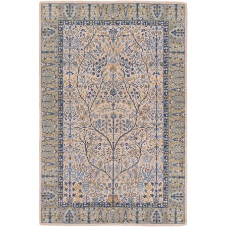 how to place an area rug in a living room kansai 5 3 quot x 7 6 quot rug rugs interior machine made 28402