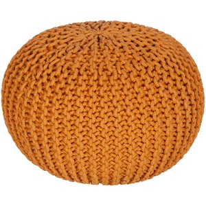 Malmo Orange Pouf