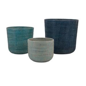 Adriel Rattan Baskets - Set of Three