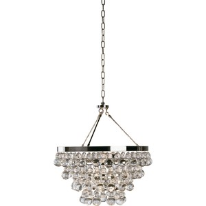 Chandelier with Convertible Double Canopy | Robert Abbey