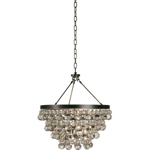 Chandelier w/ Convertible Double Canopy