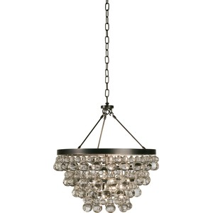 Chandelier w/ Convertible Double Canopy | Robert Abbey