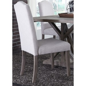 Upholstered Side Chair in Tan | Liberty Furniture